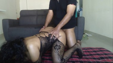 Karisma - S1 E12 - Big Indian Boobs in Fishnets + Anal Audition