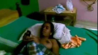 Indian Bhabhi BigTits Exposed Naked In Bed