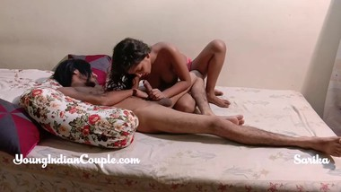 Indian teen loves Big Cock Turns Into hardcore fucking with Step brother