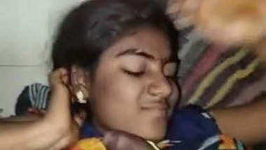 Shy Tamil Girl Blowjob and Fucked With Clear Tamil Talk Part 1