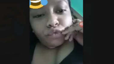 Bangladeshi Girl Pushpita Showing Boobs On Video Call