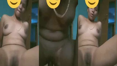 Telegu girl riding dick of her bf at his home MMS