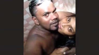 Desi lover bathroom romance