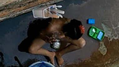 Desi Girl Nude Bathing Secretly Recorded By Neighbour
