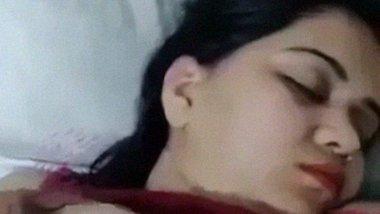 Bhabhi pretend to be asleep while devar fondles her boobs