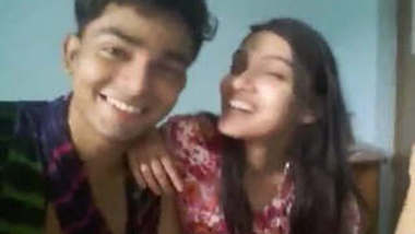 Bangladeshi Cute Girl Nishat From Sylhet With Lover 3 New Clips With Bangla Talk Part 3