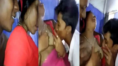 Bengali wife manhandled by group of guys