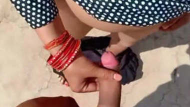Indian wife fucked from behind and boobs pressed by hubby 2 vdos part 2