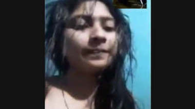 Beautiful Cute Bangladeshi Gf Showing On VideoCall