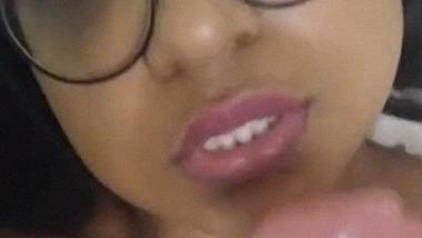 NRI girl masturbating using Dildo selfie