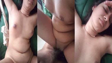 NRI girl tastes big black dick in her pussy