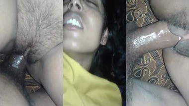 Painful tight pussy fucking Desi MMS video