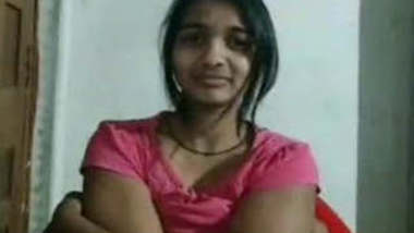 Cute Indian Girl Showing For Bf