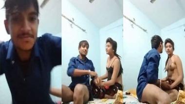 Dehati lovers sex scandal video