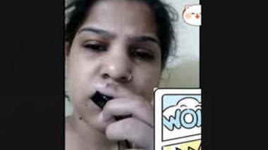Bhabi Showing On Video Call