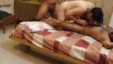 Soniya bhabhi threesome with cuckold husband frnds part 2