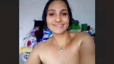 Sexy NRI Bhabhi Nude Selfie Part 1