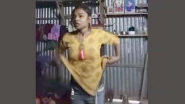 Indian Tamil Village girl changing