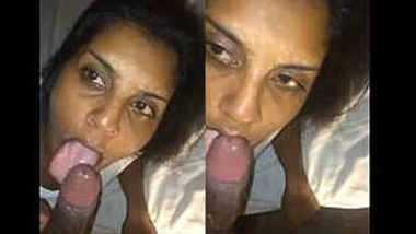 Desi Babe Deepthroat Blowjob Doggy Style Fucking and Cum Swallowing