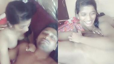 Cute Indian Desi Lover Romance Gf give Nyc Blowjob