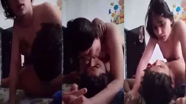 Indian couple sexy dick ride video