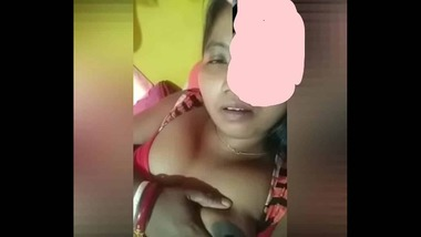 Cute Bhabhi video call with a facebook friend of hers