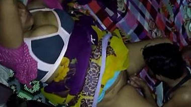 Indian wife Boobs pressing and pussy Licking and blowjob
