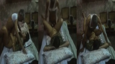 Dehati old man sex with his son's wife MMS video