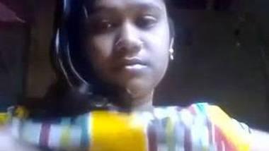 Lovely boobed Bagladeshi selfie for lover