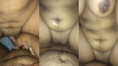 Sexy Telegu wife sex MMS video scandal
