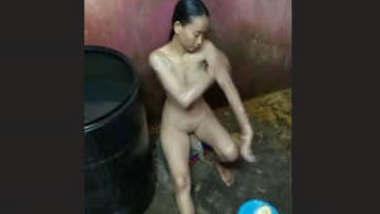 Neapali Girl Leaked Selfie Video Part 1