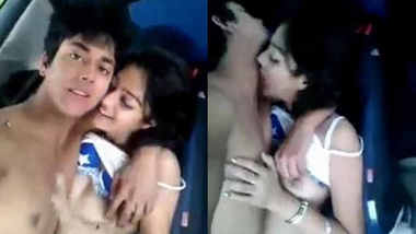 Desi Lovers sex scandal inside Car Leaked mms with audio