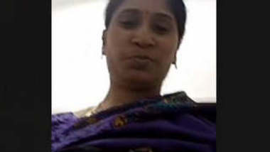 Indian Wife Showing Her Boobs on Video call