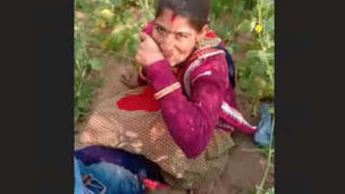 Villlage couple caught Fucking in sarso ka khet