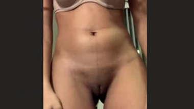 Horny Desi Teen Strip & Masturbating