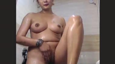 NRI wife masturbating