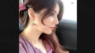 Pakistani Beautiful actress Rabi Pirzada Leaked Video Part 4