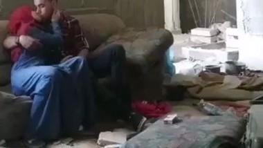 Arab couple fucking 4 clips