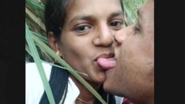 Village lover in jungle