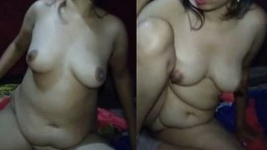 Horny Bhabi Nude Video Record by Hubby