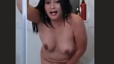 Anamika Desai Masturbating in Shower