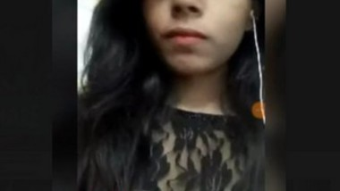 Cute Desi Girl Showing On Video Call