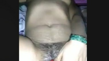 Bhabi Pussy Rubbing Captured By Hubby