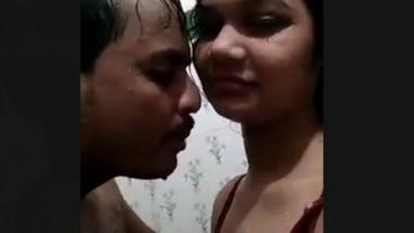 Desi wife Shower fun