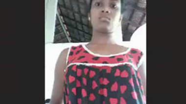Desi Girl Friend Strip Selfie
