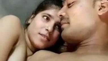 Young village couple romantic sex