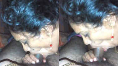Desi delhi aunty sucking like lollipop