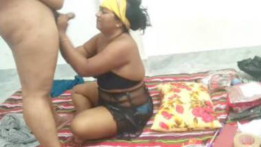 Indian Big Boobs Horny Bhabhi Sucking
