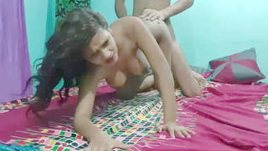 Indian cute girl sarika hard fucking with bf part 2