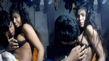 Hot Indian lovers home sex video exposed on the net